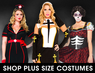 Shop Sexy Plus Size Halloween Costumes